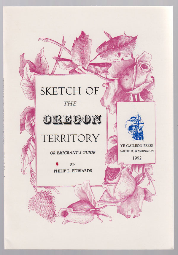 Image for Sketch of the Oregon Territory, or Emigrant's Guide