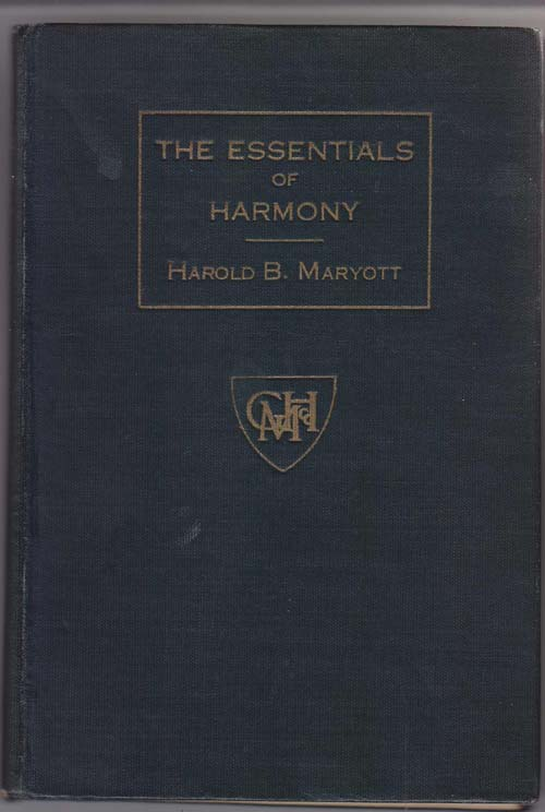 Image for The Essentials of Harmony