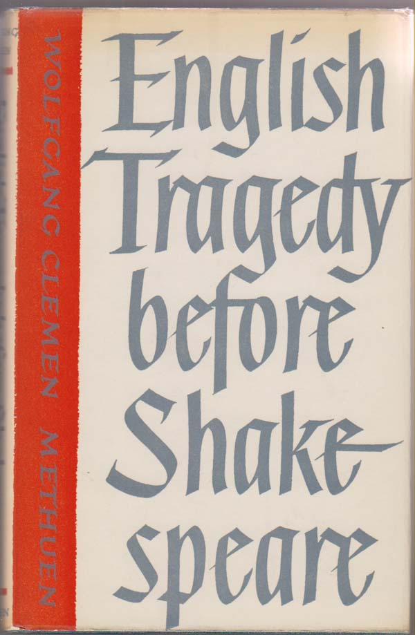 Image for English Tragedy before Shakespeare