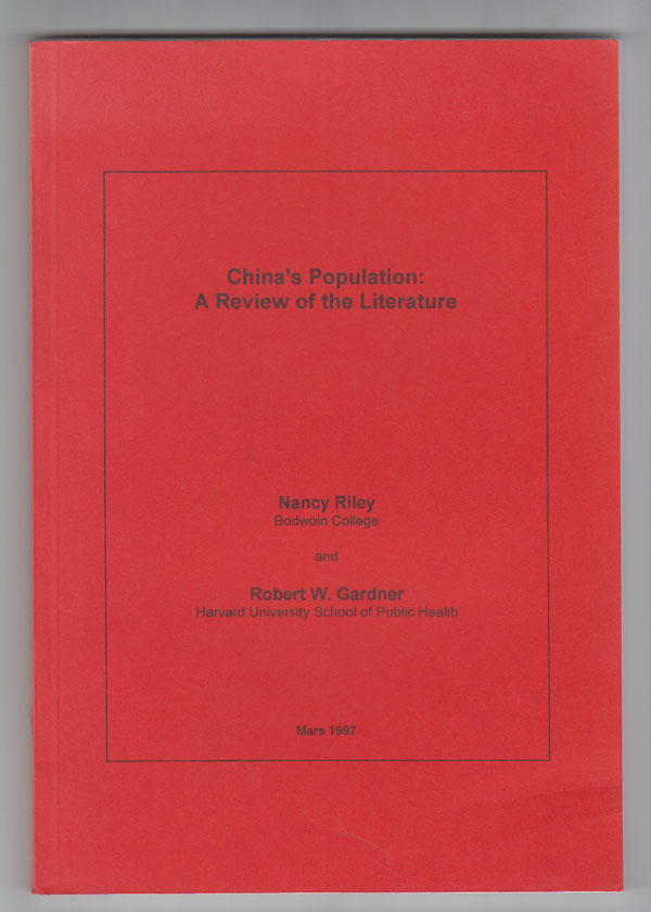 Image for China's Population A Review of the Literature