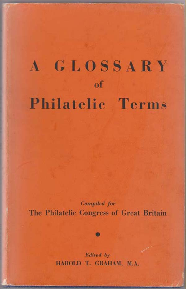 Image for A Glossary of Philatelic Terms
