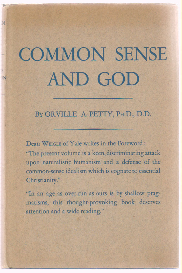 Image for Common Sense and God; a Critique of Naturalism