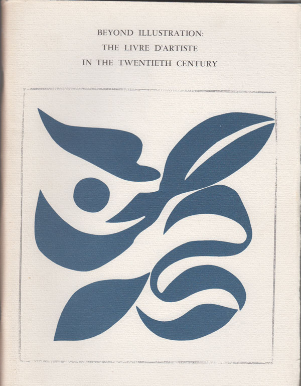 Image for Beyond Illustration: the Livre D'Artiste in the Twentieth Century