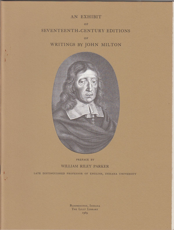 Image for An Exhibit of Seventeenth-Century Editions of Writings by John Milton