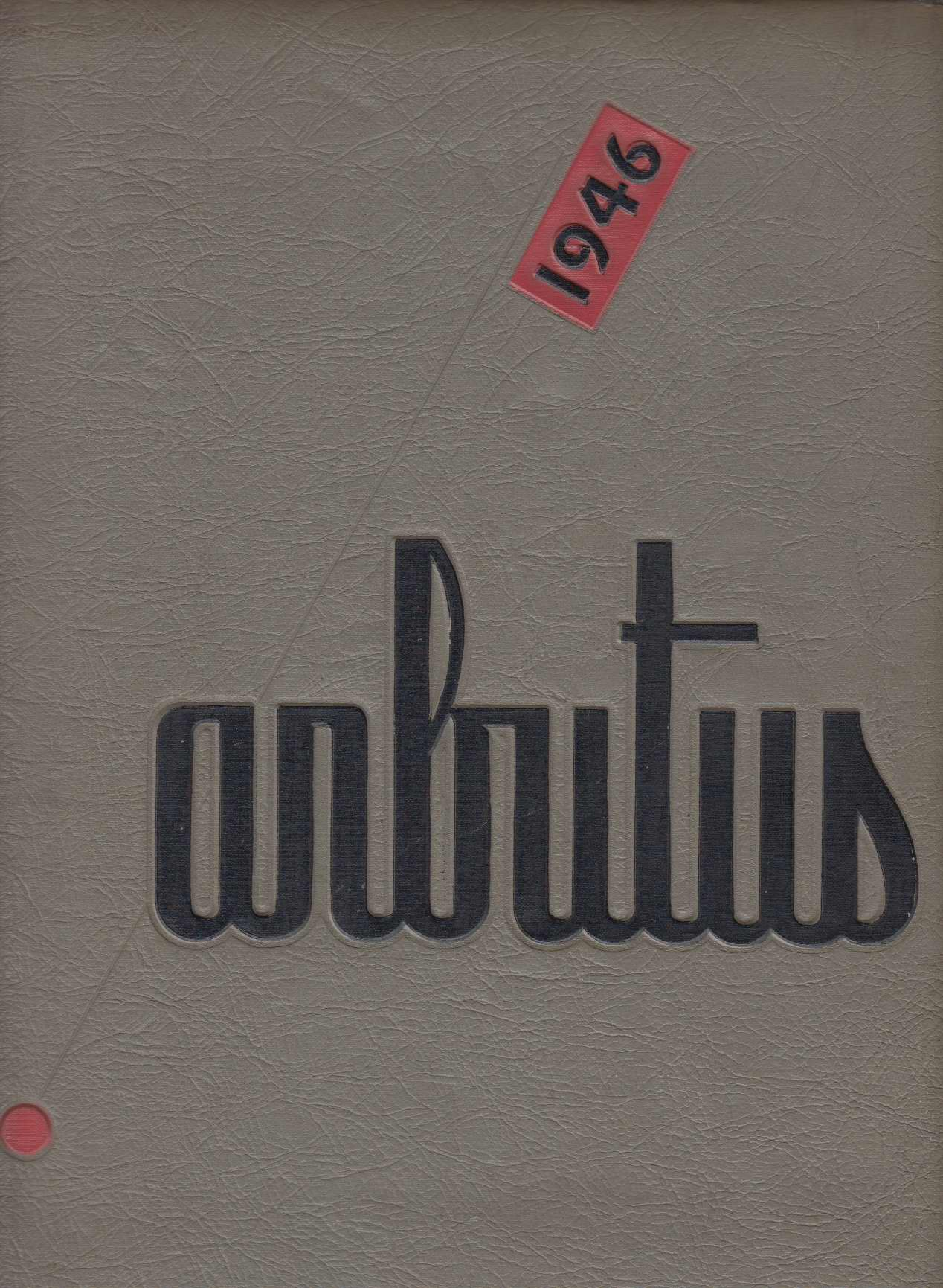 Image for Arbutus 1946 (Indiana University Yearbook, Volume 53)