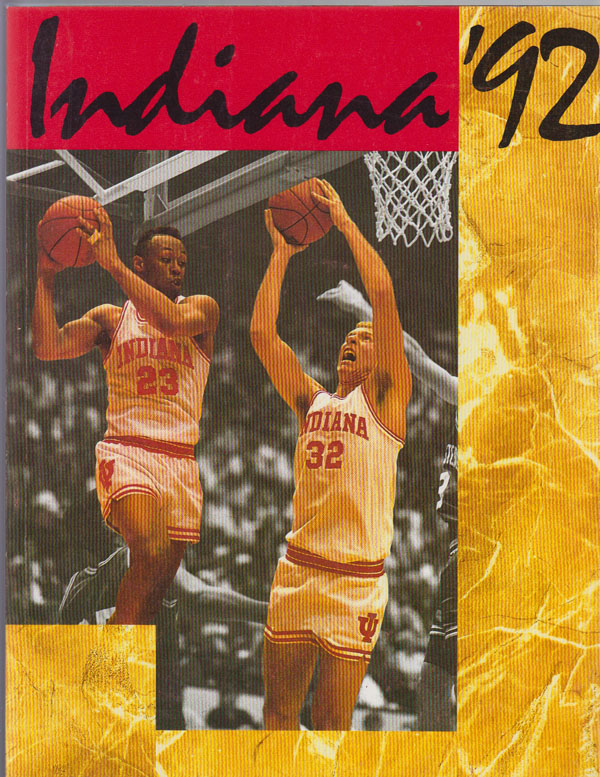 Image for Indiana Basketball '92: Basketball Media Guide for 1992