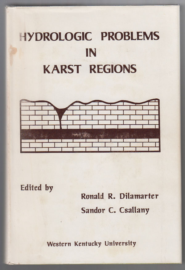 Image for Hydrologic Problems in Karst Regions