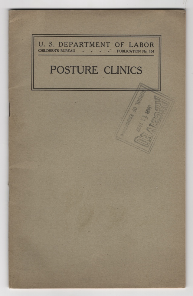 Image for Posture Clinics: Organization and Exercises