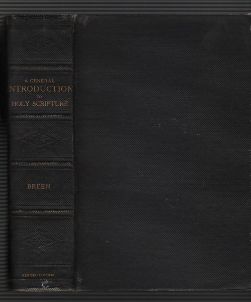Image for A General Introduction to the Study of Holy Scripture