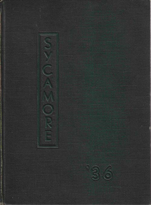 Image for Sycamore 1936: Indiana State Teachers' College: Yearbook