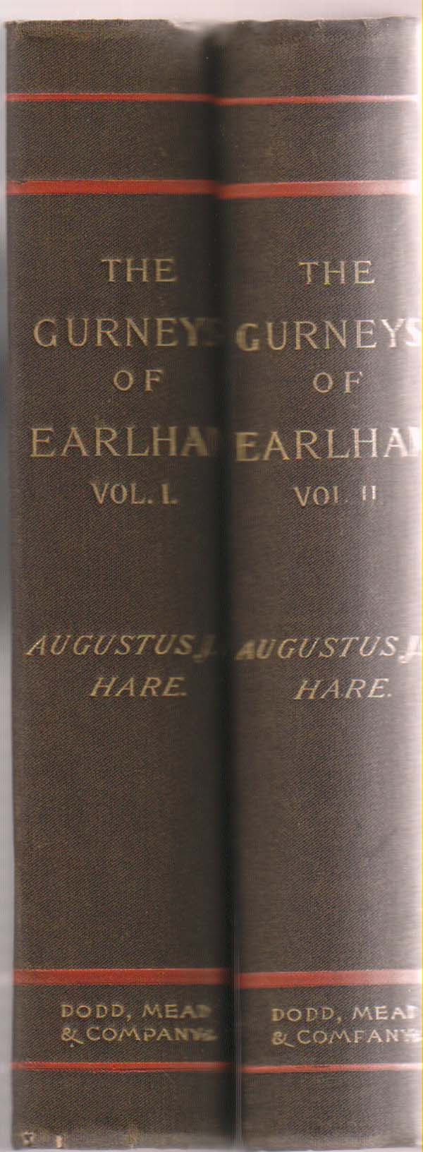 Image for The Gurneys of Earlham Volume I and II:   (2 Volume Set)