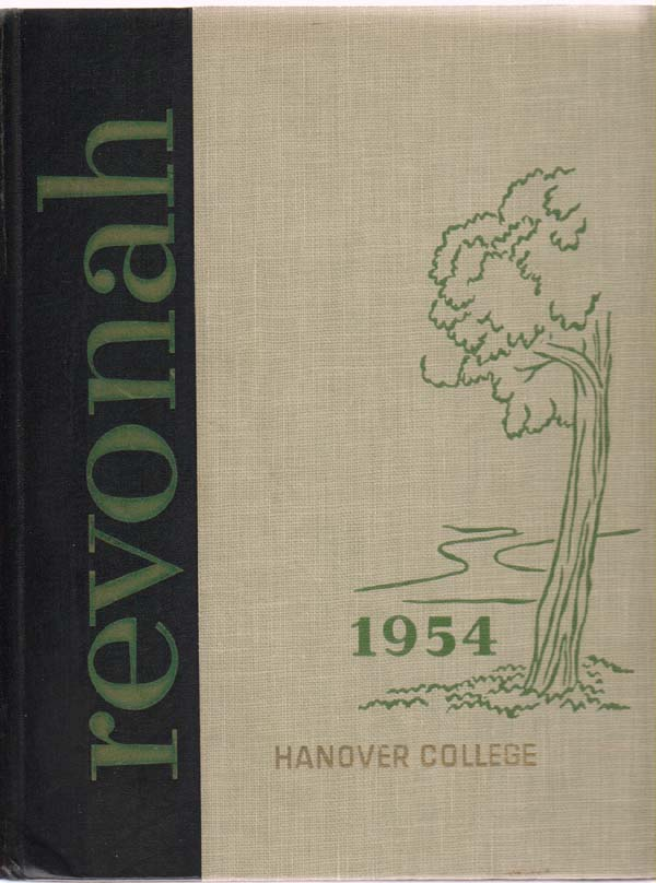 Image for Revonah (Yearbook, Hanover College, 1954)