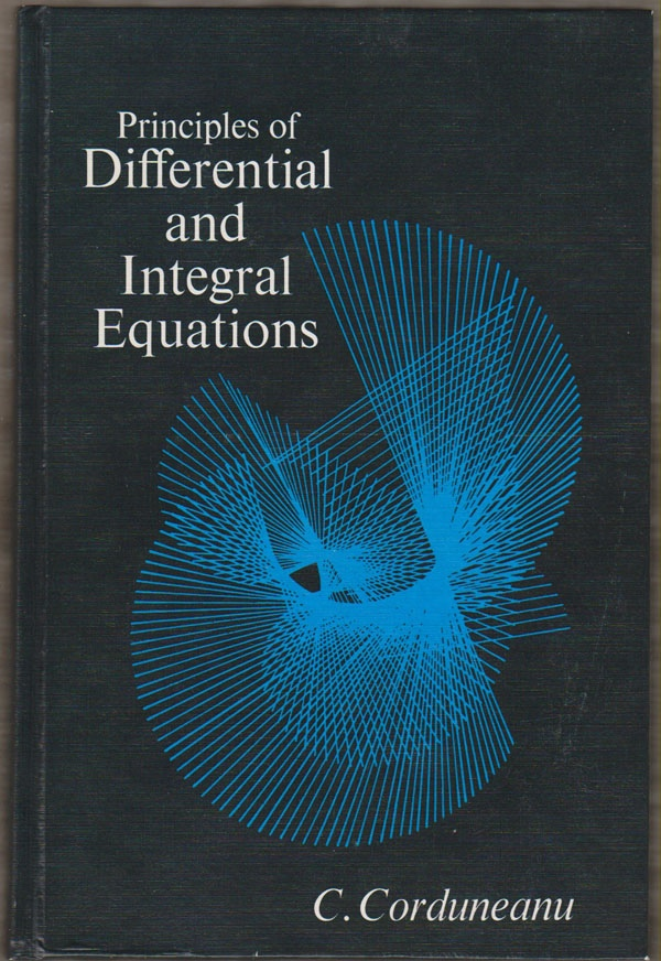 Image for Principles of Differential & Integral Eqations