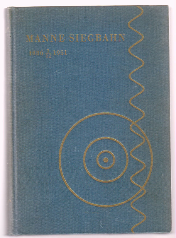 Image for Manne Siegbahn: 1886 3/12 1951