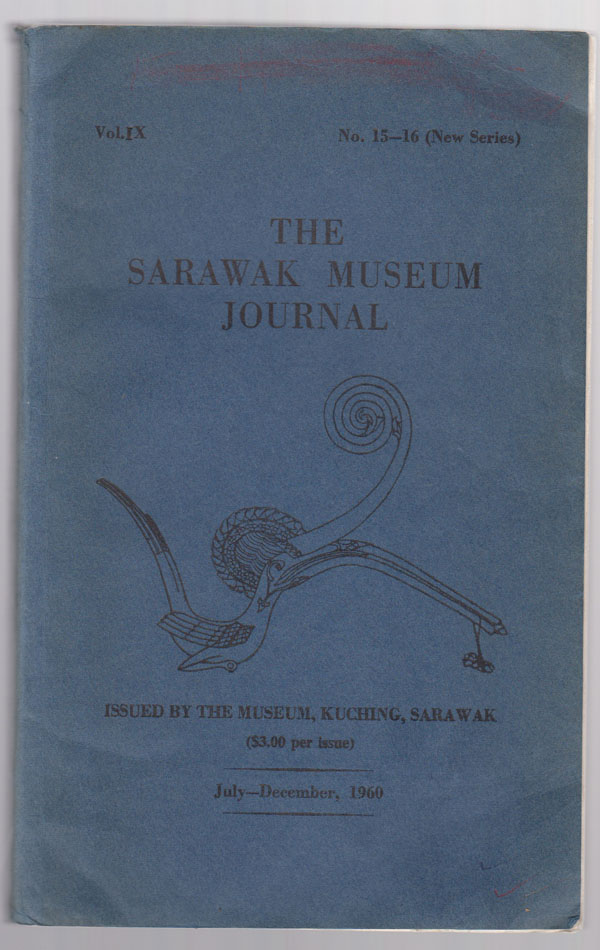 Image for Sarawak Museum Journal, Volume IX, 15-16