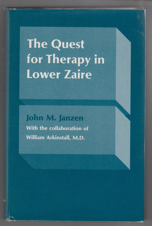 Image for The Quest for Therapy in Lower Zaire
