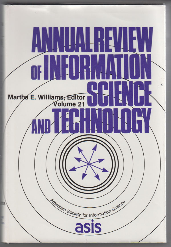 Image for Annual Review of Information Science and Technology, 1986 (Vol. 21)
