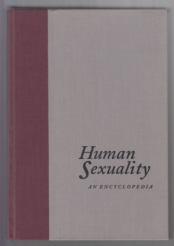 Image for Human Sexuality  An Encyclopedia