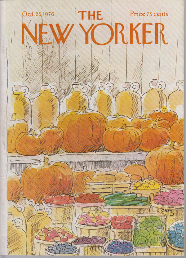 Image for The Book of Sand (1st English Printing)  The New Yorker, October 25, 1976