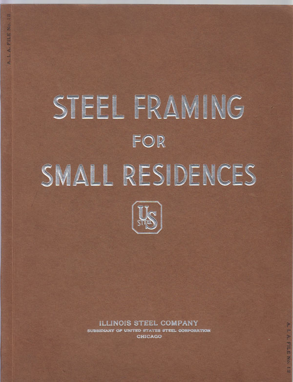 Image for Steel Framing for Small Residences