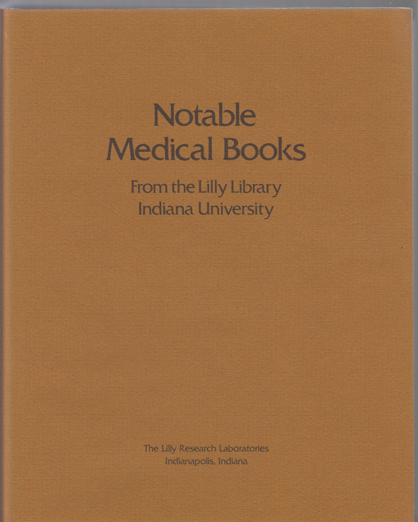 Image for Notable Medical Books from the Lilly Library