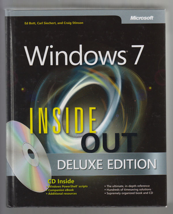 Image for Windows 7 Inside Out, Deluxe Edition (Hardcover)