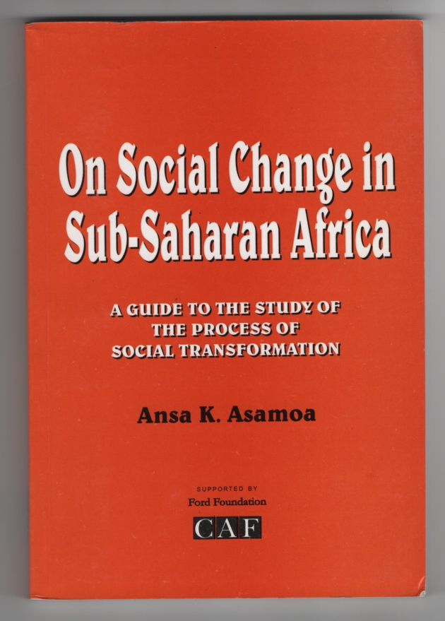 Image for On Social Change in Sub-Saharan Africa:  A Guide to the Study of the Process of Social Transformation