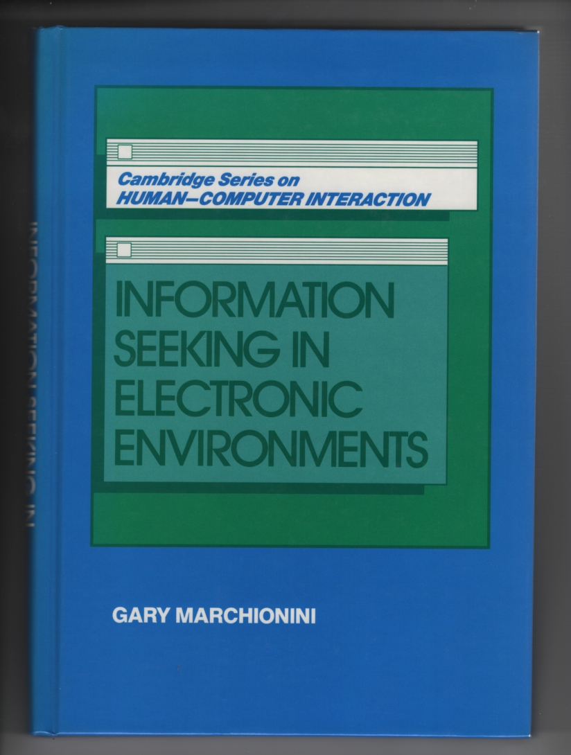 Image for Information Seeking in Electronic Environments