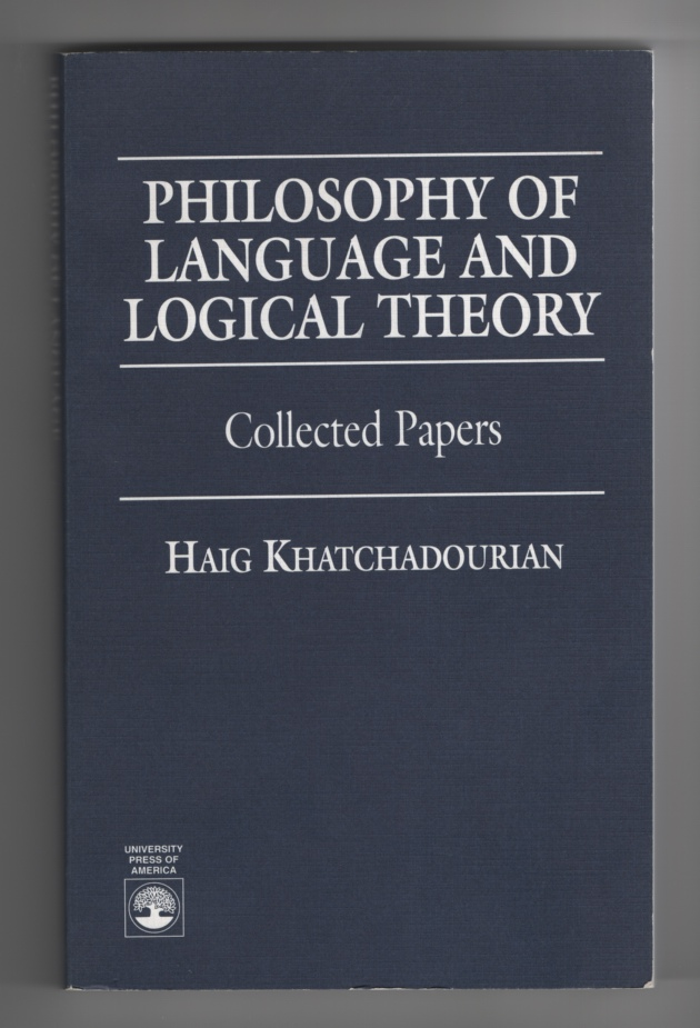 Image for Philosophy of Language and Logical Theory