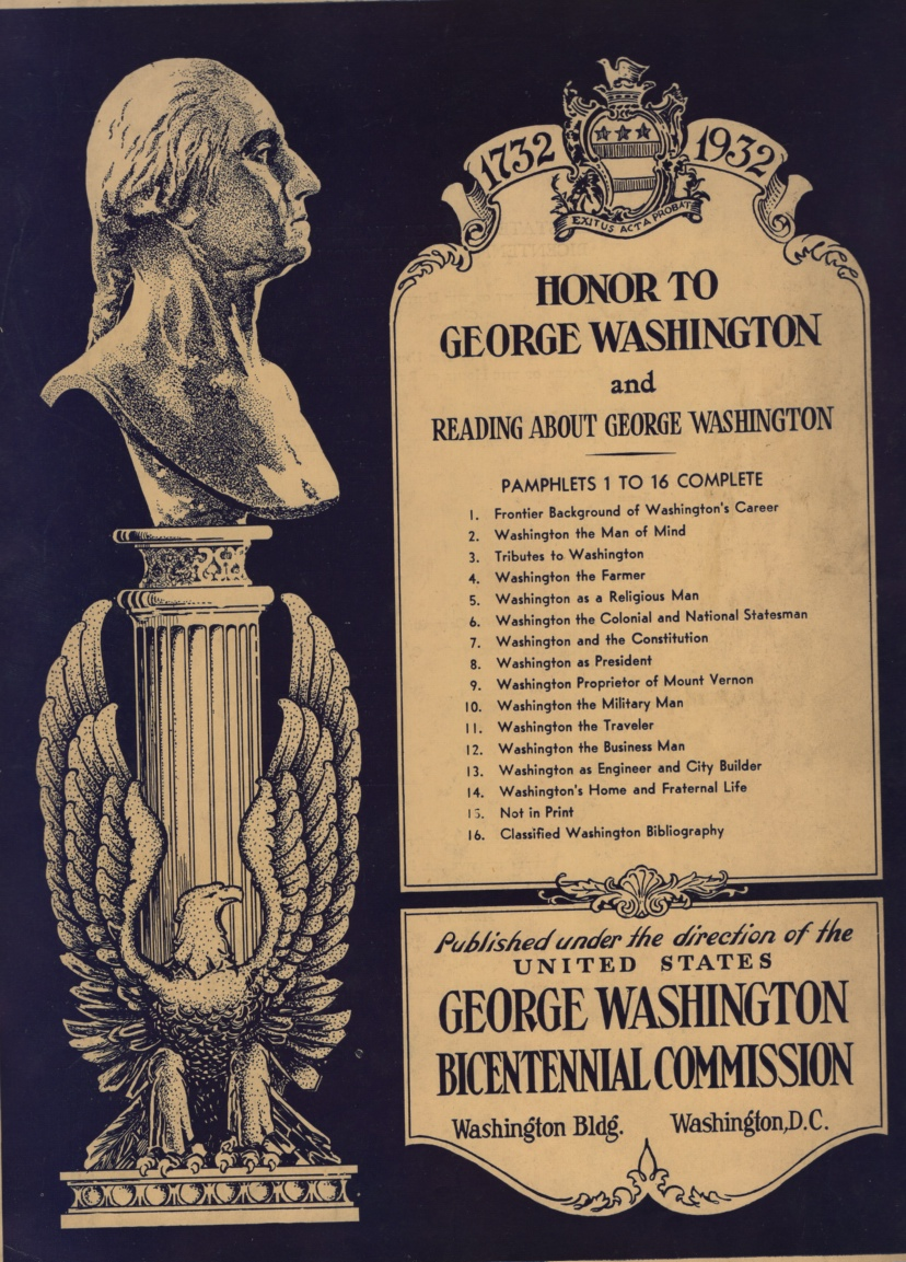 Image for Honor to George Washington and 16 Readings