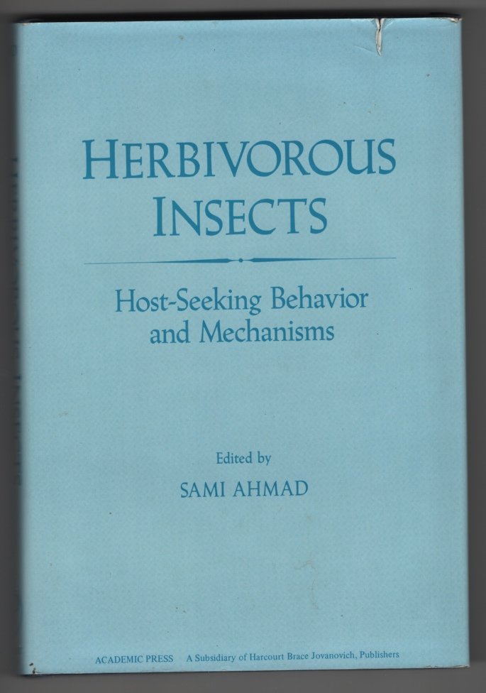 Image for Herbivorous Insects  Host-Seeking Behavior and Mechanisms