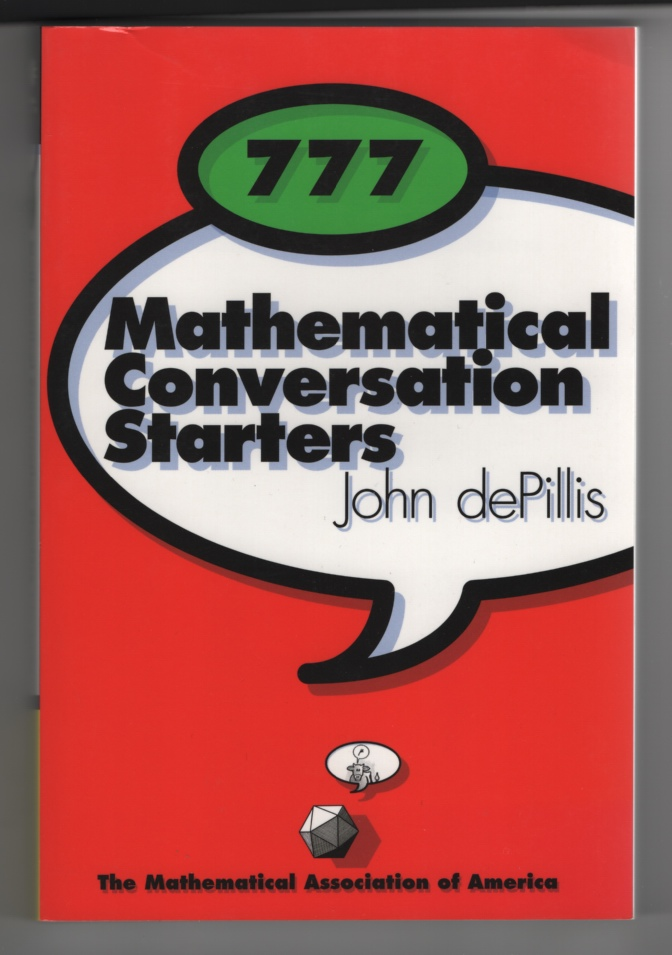 Image for 777 Mathematical Conversation Starters