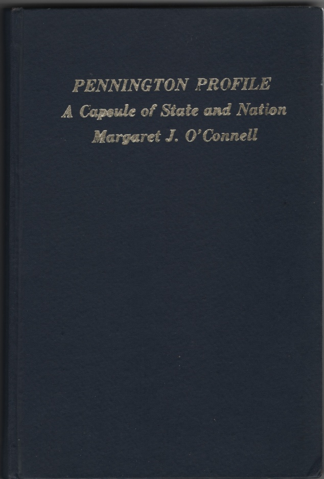 Image for Pennington Profile  A Capsule of State and Nation