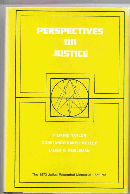 Image for Perspectives on Justice