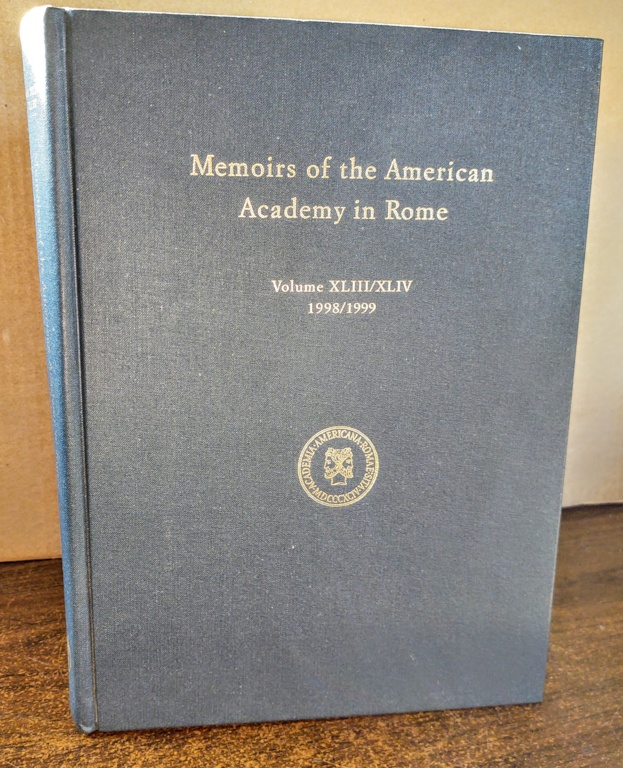 Image for Memoirs of the American Academy in Rome, Vol. 43 / 44 (1999) (V. 43 & 44)