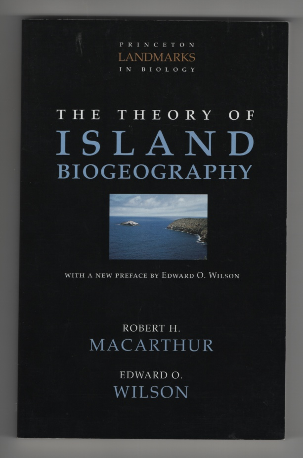 Image for The Theory of Island Biogeography